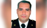 El capitán del Inpec, David Alexander Álvarez