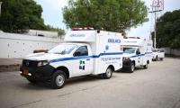 Ambulancias donadas al hospital San Rafael de Fundación