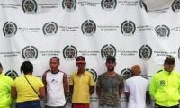 Capturados por tráfico de estupefacientes en bahía de Santa Marta