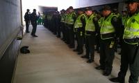 200 uniformados prestarán seguridad en el estadio y sus alrededores.