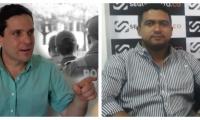 Camilo George (izq) vs Raúl Pacheco (der)