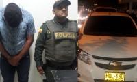 Según las autoridades Floreses Castaño fue sorprendido en flagrancia.