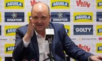 Jorge Enrique Vélez, presidente de la División Mayor del Fútbol Colombiano.