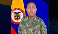 Soldado muerto en Tarazá.