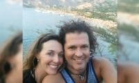 Carlos Vives y Claudia Elena Vásquez, de paseo por Taganga.