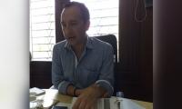 El gobernador ad hoc del Magdalena, Fabio Augusto Parra Beltrán.