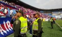La seguridad del evento se mantendrá hasta que el último asistente salga del estadio.