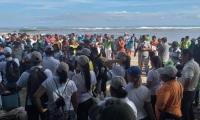 Jornada de limpieza en Buritaca