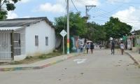 Lugar donde fue asesinado Luis Enrique Pérez Barrera