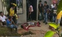 Campesino asesinado en Corinto, Cauca.