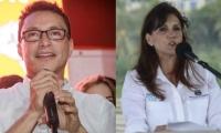 Carlos Caicedo y Rosa Cotes.