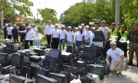 Jornada de recolección de residuos