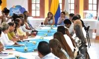 Este martes fue la primera reunión de los equipos de empalme de las administraciones saliente y entrante