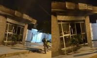 Oficinas de Electricaribe en Guamal.
