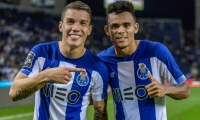 Mateus Uribe y Luis Díaz.