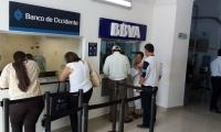 Bancos de la Unidad de Rentas de Santa Marta - imagen de ilustración.