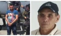 Alias 'Barbas' o 'Leandro', así se le conoce a Leandro Jhonatan Lara (izq).