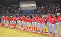 Tigres se marcó a Cartagena con el 'botín' lleno, ganó los cuatro juegos.