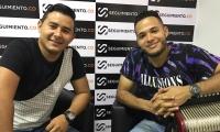 Ángel Mugno y Pipe Merlano