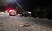 El incidente vial fue atendido por autoridades.