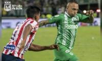 Jarlan regresa a Barranquilla, pero con la camiseta de Nacional.