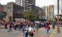 Protesta este sábado en Bogotá