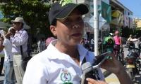 La presidenta de Edumag, María Ceballos.