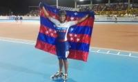 Kerstinck Sarmiento, campeona en Juegos Nacionales.