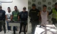 Capturados en Santa Marta y Ciénaga.