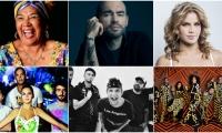 Artistas colombianos que apoyan las movilizaciones