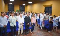 La iniciativa incluyó el desarrollo de dos diplomados en Gestión y Formulación de Proyectos Culturales.