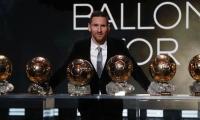 Messi ya había ganado el Balón de Oro en 2009, 2010, 2011, 2012 y 2015.