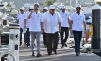 Visita de la Comisión de Odesur a Santa Marta