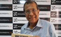 Guillermo Antonio Barreto Vásquez, escritor del libro Rafael Manjarrez