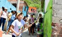 La gobernadora del Magdalena, Rosa Cotes, con el programa 'Entorno Pintoresco'