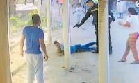 El video se convirtió en la prueba reina de la Fiscalía para inferir que hubo exceso de fuerza por parte de los uniformados y que desencadenó el crimen.