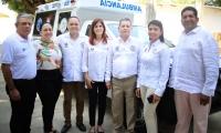 Entrega de ambulancias en el Magdalena