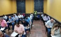La prueba contó con la participación de los 52 aspirantes y fue aplicada por la Universidad de la Costa.