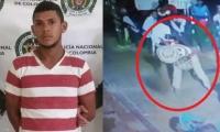 Andrés José Colón Potes, capturado por maltrato animal.