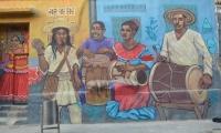 Mural de la Ruta de los Murales.