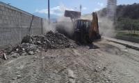 Limpieza en El Rodadero