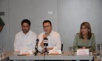 Senador Iván Cepeda, Carlos Caicedo y Virna Johnson