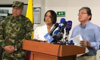 El Ministro de Defensa, Carlos Holmes Trujillo, lideró un Consejo de Seguridad en Santa Marta.