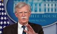 John Bolton, asesor de seguridad nacional del presidente estadounidense.