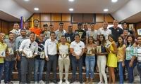 El grupo estudiantes representó de de forma brillante a la Unimagdalena en Medellín.