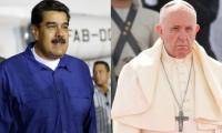 Nicolas Maduro y el Papa Fransisco