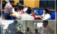 En los talleres participaron cerca de 56 personas de diferentes instituciones.