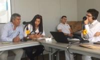 Elizabeth Pacheco y Jorge Cortezano, en diálogo con W Radio.