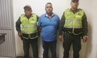 Luis Manjarrez, capturado en Gaira por hurto