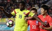Colombia - Corea del Sur, en noviembre de 2017, cuando ganaron los asiáticos 2-1.